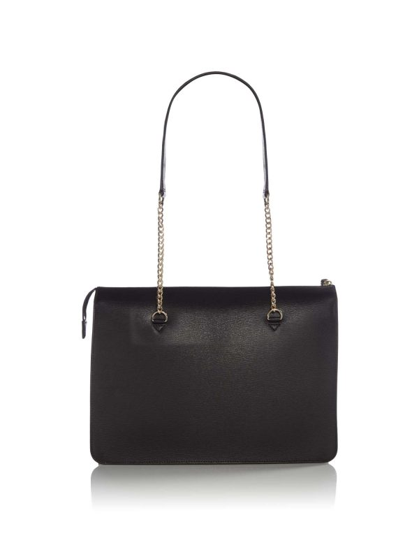 DKNY Bryant LG Zip Tote in Black
