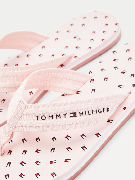Tommy Hilfiger TH Mini Flag Flip Flops Light Pink