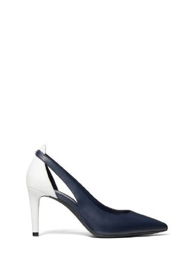 Michael Michael Kors Cersei Flex Mid Pump in Navy