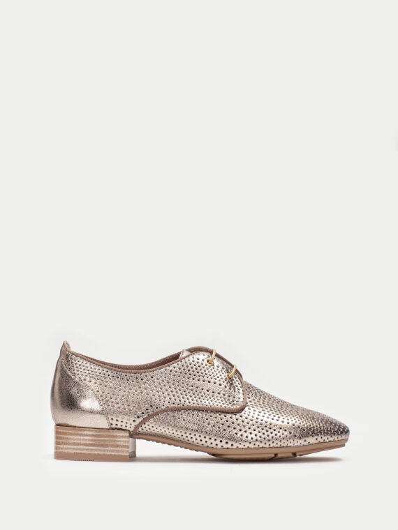 HISPANITAS METALLIC LACED SHOES 1