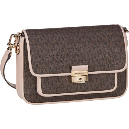 Michael Kors Bradshaw messenger brown pink 5
