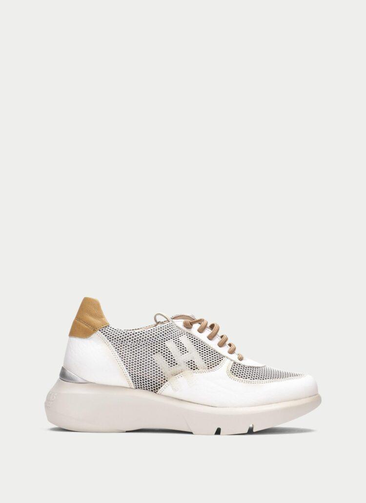 HISPANITAS Telma Sneakers in White with Tan