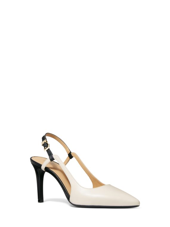 Michael Kors Vanessa Flex Sling in Lt Cream 1