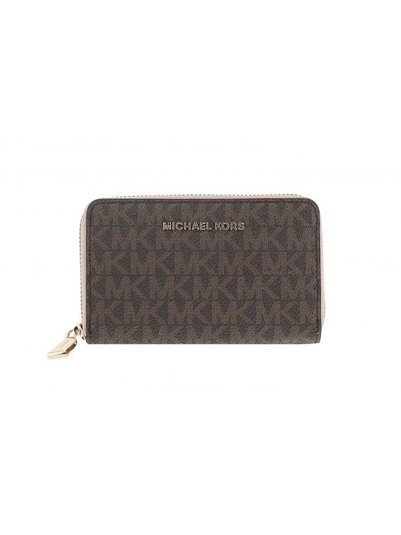 Michael Kors ZA Small Brown Soft Pink 1