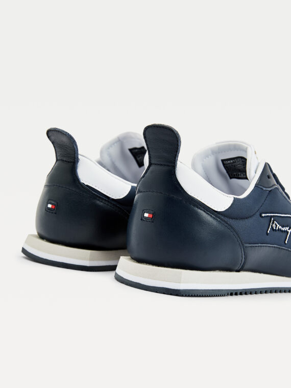 Tommy Hilfiger Signature Retro Runner in Desert Sky (Navy)
